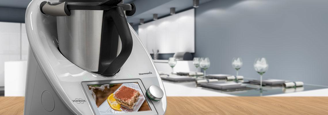 Robot de cuisine connecté