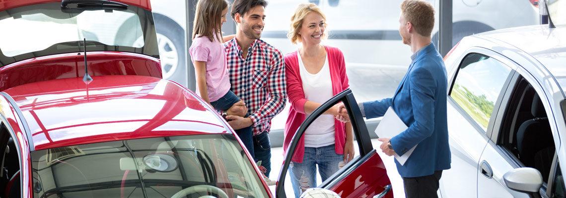 Achat de voitures neuves