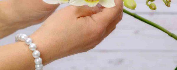 bracelet aux perles de Tahiti